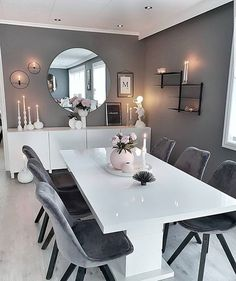 Home Interior Warm .Home Interior Warm Dining Room Table Decor, Dining Room Design, Inspire Me Home Decor, Easy Home Decor, Home Room Design, Home Interior Design, Interior Colors, Interior Modern, Home Living Room