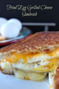 Fried Egg Grilled Cheese Sandwich.  Must. Make.