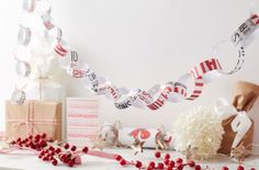A tried and tested favourite, paper chains are sure to brighten up any room. Here we show you how to make you own, perfect for a last-minute craft to do with the kids.