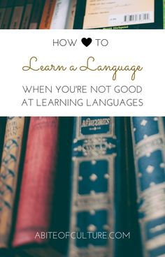 How to Learn a Language When You're Not Good at Learning Languages; learning a language is hard. It takes a certain amount of self discipline and a ton of desire. The modern day education system has taught us that the way you learn a language is through memorization of grammar, vocabulary, and more... But is that true? Let's find out.