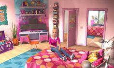 Barbie Life, Barbie Dream House, Barbie World, 5 Minute Crafts Videos, Craft Videos, Dreamhouse Barbie, Barbie Bedroom, Carmen Sandiego, Barbie Movies