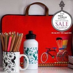 Our #Laptop #Sleeves are practical yet #trendy.  Grab them now at our #EndofSeason #Sale #indiacircus