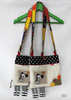 7409aead6d6 Detská kabelka so zebrou Cute Crafts
