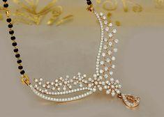 Diamond Mangalsutra by PN Gadgil & Sons Diamond Mangalsutra, Gold Mangalsutra Designs, Gold Diamond Earrings, Gold Jewellery Design, Diamond Jewellery, Diamond Pendant, Ring Earrings, Gold Necklace, Gold Pendent