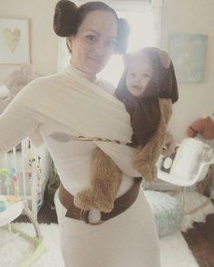Princess Leia and her Ewok costume