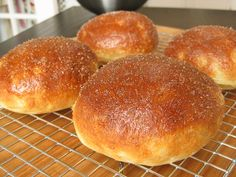 Brioche Buns (Gluten-free!) | A Sage Amalgam SUBSTITUTE ANOTHER FLOUR FOR THE BEAN FLOUR---SEE MY GF FLOURS BOARD FOR SHAUNA'S FLOURS LIST.