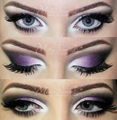 Purple MakeUp :]