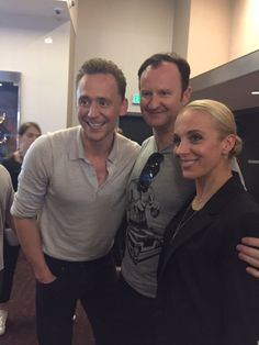 Mark Gatiss and Amanda Abbington / July 2016