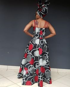 Telling African Story Through African Print 👗 African Wear, African Attire, African Dress, African Prom Dresses, African Fashion Dresses, Fashion Outfits, Kitenge, African Design, Quinceanera Dresses