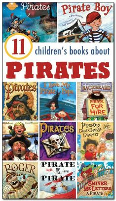 11 books about #pirates for kids, both fiction and non-fiction selections with description and review to help you make the best selection for your children or students    Gift of Curiosity