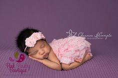 Newborn Coming home outfit 2PC Light Pink by Pinkpaisleybowtique