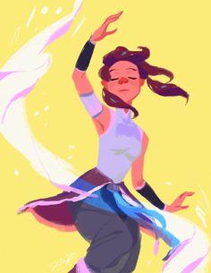 Korra | #Waterbending | Legend of Korra | Avatar
