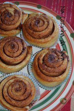Na Cozinha da Sara: Rolinhos de Canela (Kanelbullar) e Trança de Canela (Kanellängd)