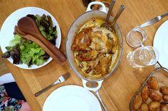 raus mat: Perlehøne med sitron