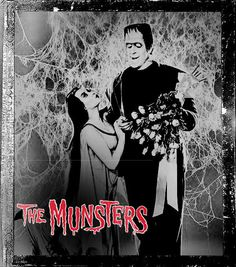 The Munsters Herman & Lily