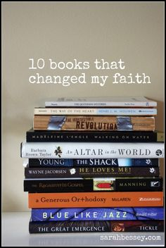 I need to finish The Shack...I don't know if Love Does by Bob Goff is on the list but I highly recommend it!!