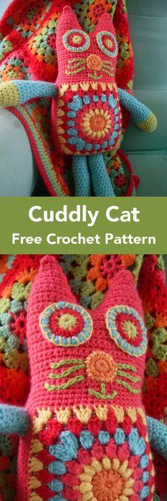 Cat Crazy Free Crochet Patterns – Krazykabbage