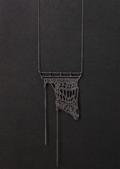 JULIA BERG crochet necklace