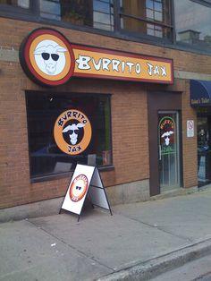 Photos of Burrito Jax - Halifax, NS. Burritos, Places To Eat, The Locals, Road Trip, Clock, Canada, Vacation, Photos, Smothered Burritos