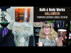 Ashland Candles, Holiday Candles, Bath And Bodyworks, Pumpkin Carving, It Works, Halloween, Pumpkin Carvings, Nailed It, Spooky Halloween
