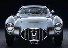 Back to Black: 1954 Maserati A6G CS Berlinetta.