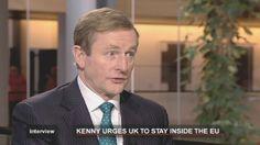 L'Irlanda guida l'Europa per 6 mesi: intervista al premier Kenny.....