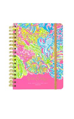Lilly Pulitzer, 2016-2017 Large Agenda, Lover's Coral @thepinkpelican