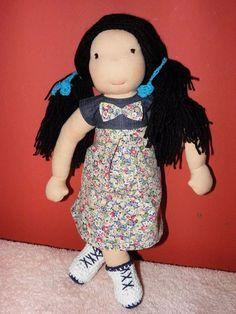 Kasia  waldorf doll  45cm by LeluszkaWaldorfDoll on Etsy
