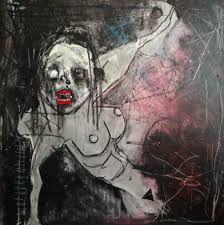 Αποτέλεσμα εικόνας για Khara Oxier paintings Mental Health Art, Themed Photography, Doodle Books, Figurative Kunst, New Artists, Anime Art Girl, Macabre, Drawing Reference, Dark Art
