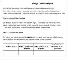 Personal Five Year Plan Template Kvzuaxou  Xayphonekks