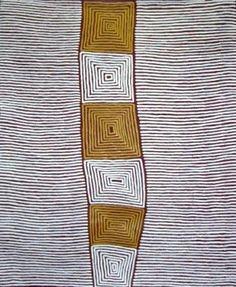 Grasstree Gallery - Indigenous Australian Aboriginal Art - Large Image