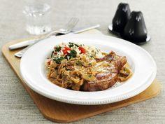 Gebratenes Schweinekotelett mit Pilzsauce ist ein Rezept mit frischen Zutaten aus der Kategorie Schwein. Probieren Sie dieses und weitere Rezepte von EAT SMARTER!