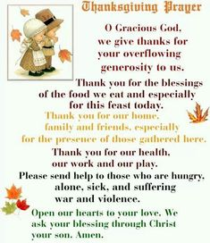 Get here the Thanksgiving prayer for the family. We have collection of short, long and printable thanksgiving prayers by family at dinner Thanksgiving Prayer Catholic, Thanksgiving Prayers For Family, Thanksgiving Blessings, Prayer For Family, Thanksgiving Greetings, Thanksgiving Quotes, Thanksgiving Appetizers, Thanksgiving Crafts, Thanksgiving Table