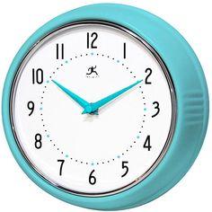 Retro Iron Wall Clock - Clocks - Home Accents - Home Decor   HomeDecorators.com