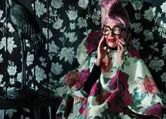 "【ELLE】世界最高齢のファッションアイコン、アイリス・アプフェルが語る""スタイル哲学""|エル・オンライン"