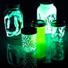 Glow Jars - Fireflies in a Jar from stevespanglerscience.com