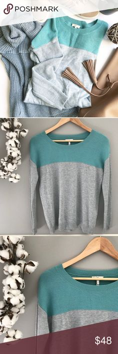 🆕 Joie Cashmere blend color block sweater Size XS Beautiful cashmere blend sweater from Joie. Excellent used condition. Size XS Joie Sweaters