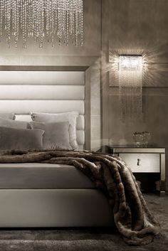 Made to a world class standard by the finest furniture makers in Italy with a unique attention to detail, creating a sublime atmosphere for your home. The Contemporary Alligator Embossed Pattern Leather Italian Bed is a striking contemporary addition to any bedroom. The statement clean lines of the headboard detail provide a grand addition to any interior design. Adding the ultimate in style and glamour!