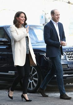 The Duke and Duchess of Cambridge, who are soon to be parents for the third time, looked i... #katemiddleton #williamandkate #princewilliam