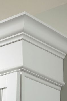 Soffit Filler Moulding topped with crown moulding will take your design to new heights and save on install time.