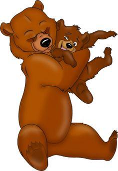 17 best disney brother bear images on pinterest brother bear rh pinterest com Retro Bear Clip Art Big Sister Clip Art