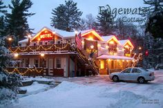Edgewater Inn Cottages in Wisconsin Information and Guest Services: 715-479-4011 Reservations: 888-334-3987 nfo@edgewater-inn-cottages.com