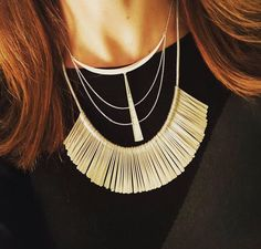 Great layering of the Essential Fringe and Swag necklace #stelladot #sdjoy