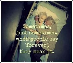 .There really are people like this out there. My grandparents are one example. I just wish there were more!