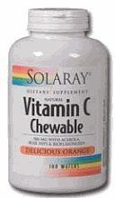 Vitamin C-500 Chewable Orange - 100 - Wafers by Solaray. Save 42 Off!. $7.73. Disclaimer: This website is for informational purposes only. Always check the actual product label in your possession for the most accurate ingredient information due to product changes or upgrades that may not yet be reflected on our web site. These statements made in this website have not been evaluated by the Food and Drug Administration. The products offered are not intended to diagnose, treat. Description…