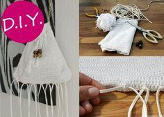 Bolso crochet con flecos