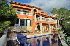 Sea view villa for sale in Puerto Andratx, Mallorca, Spain.