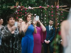 An Australian photographer has written a plea to brides and grooms-to-be beseeching them to have technology-free weddings. Photographer Thomas Stewart, of Thomas Stewart Photography, wrote an impassioned open letter on Facebook about how camera-toting wedding guests often get in the way of both the photographer and the happy couple on their special day.