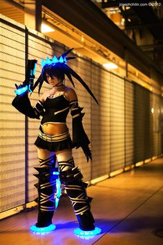 Cyberpunk, Cyber Fashion, Girl with Gun, Futuristic Clothing, Future Girl, 24 Of The Best Cosplays Ever