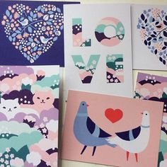 Uusia Ystävänpäiväkortteja. Tänä viikonloppuna koodilla LOVE nettikaupastamme -15%! kauppa.polkkajam.com #ystävänpäivä #ystis #love #valentines #illustration #card #postikortti #ystävänpäiväkortti #stationery #recycledpaper #madeinturku #madeinfinland #polkkajam